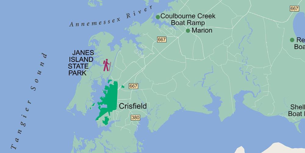 Janes Island Walking Trails