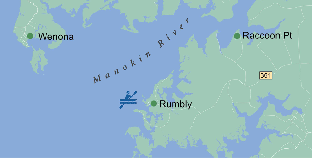 Manokin River & Marshes - Rumbley